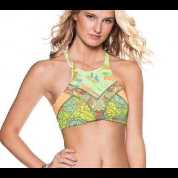 a0271012c334ae Maaji Swim | High Neck Bikini Top | Poshmark
